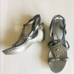 Andrew Geller wedge sandal